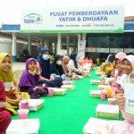 Total 100 Hidangan Berbuka Puasa dibagikan Rumah Yatim Riau dalam Selama Dua Hari