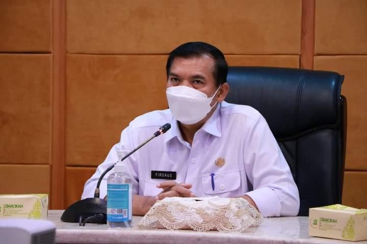 Walikota Pekanbaru, Dr. H. Firdaus, S.T., M.